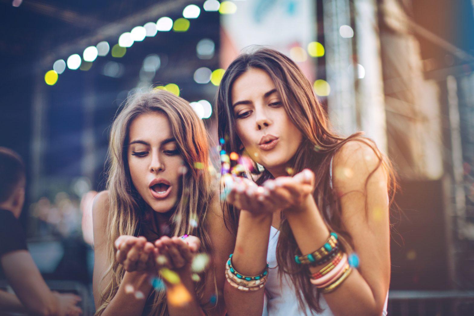 Femmes et festival de musique